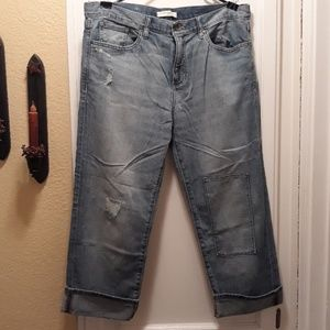nwot banana republic boyfriend jeans 32 short